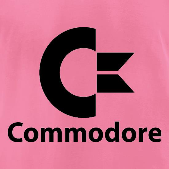Commodore t-shirts for ladies