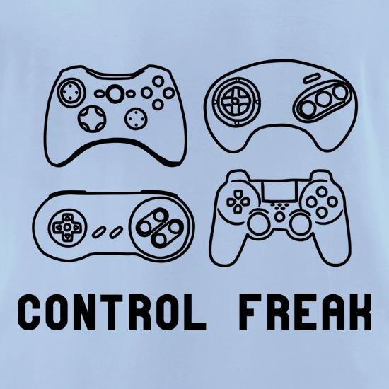 Control Freak t-shirts for ladies