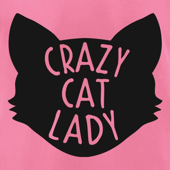 Crazy Cat Lady t-shirts for ladies