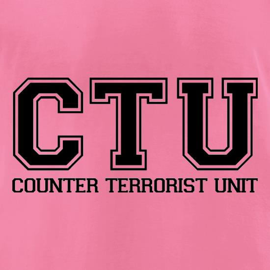 CTU t-shirts for ladies