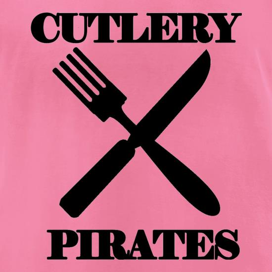 Cutlery Pirates t-shirts for ladies