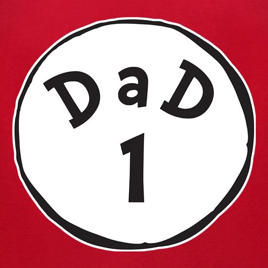 Dad 1 t-shirts for ladies