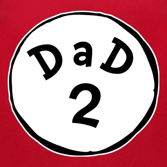 Dad 2 t-shirts for ladies