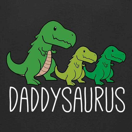 Daddysaurus t-shirts for ladies