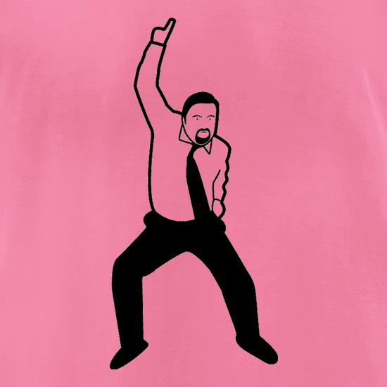 David Brent Dance t-shirts for ladies