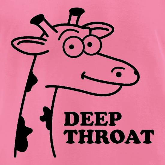 Deep Throat t-shirts for ladies