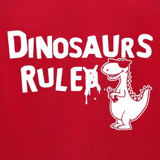 Dinosaurs Ruled t-shirts for ladies