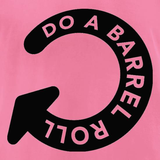 Do A Barrel Roll t-shirts for ladies