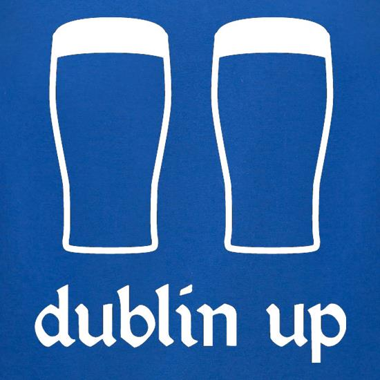 Dublin Up t-shirts for ladies