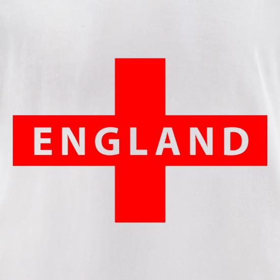 England Flag t-shirts for ladies