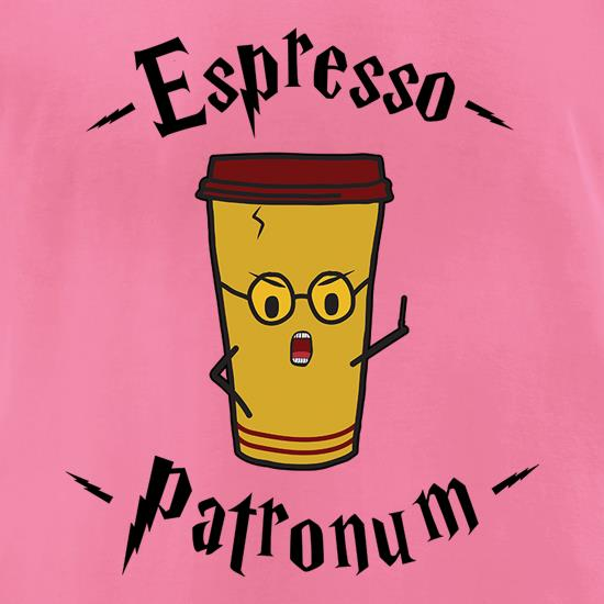 Espresso Patronum t-shirts for ladies