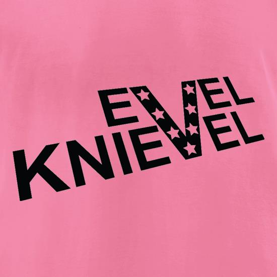 Evel Knievel t-shirts for ladies
