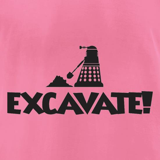 Excavate t-shirts for ladies