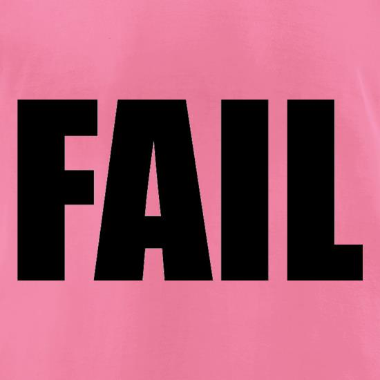 Fail t-shirts for ladies