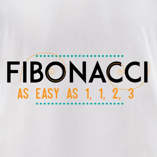 Fibonacci t-shirts for ladies