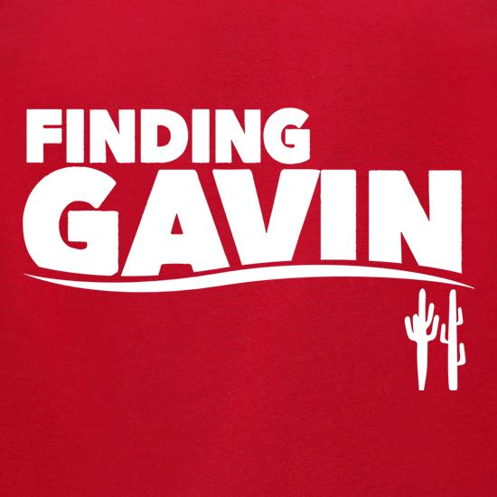 Finding Gavin t-shirts for ladies