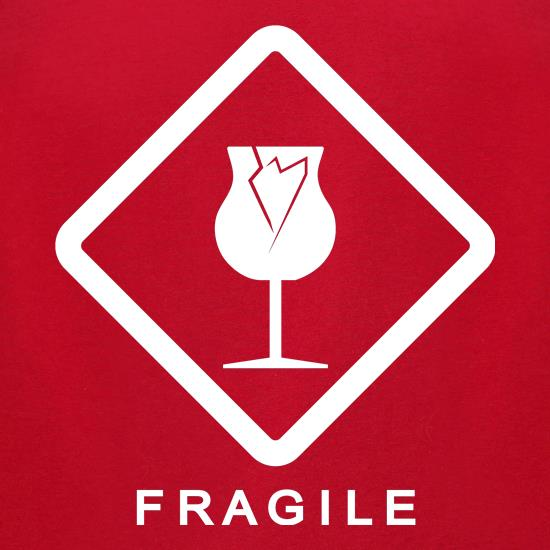 Fragile t-shirts for ladies
