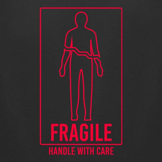 Fragile, Handle With Care t-shirts for ladies