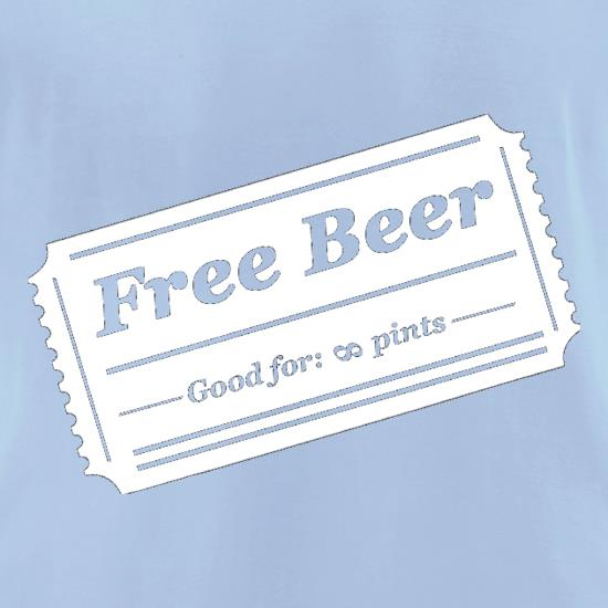 Free Beer t-shirts for ladies