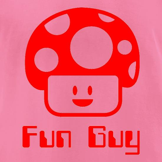 Fun Guy t-shirts for ladies