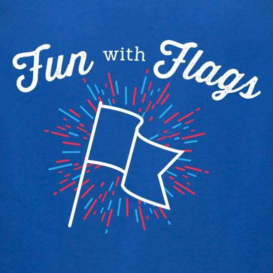 Fun With Flags t-shirts for ladies