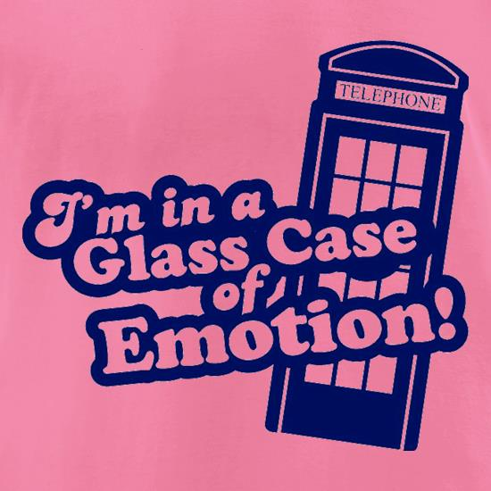 I'm In A Glass Case Of Emotion! t-shirts for ladies