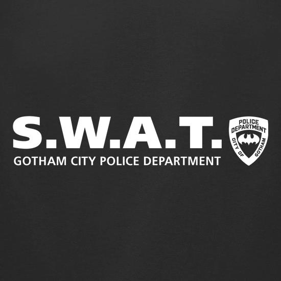Gotham City Police Department - SWAT t-shirts for ladies