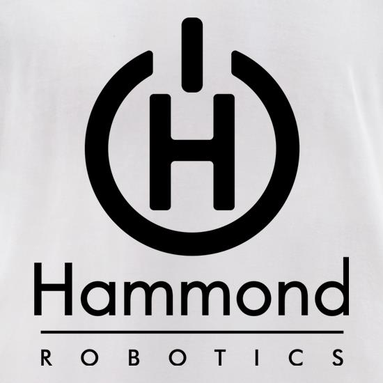 Hammond Robotics t-shirts for ladies