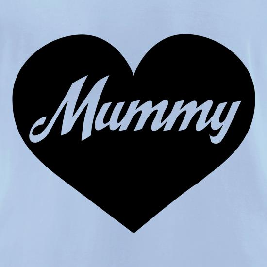 Heart Mummy t-shirts for ladies