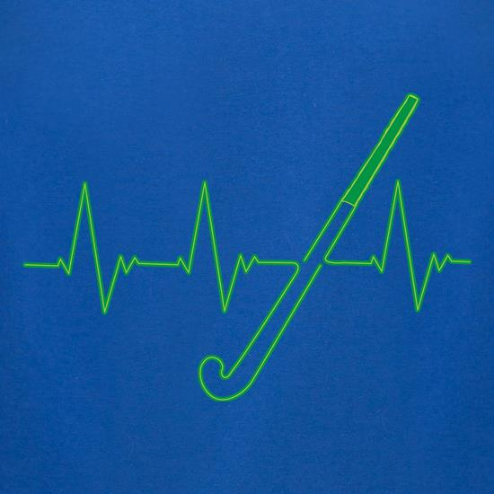 Hockey Heartbeat t-shirts for ladies