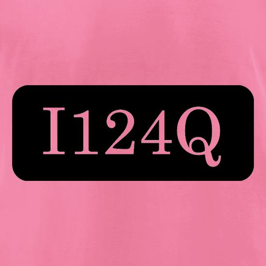 I124Q t-shirts for ladies