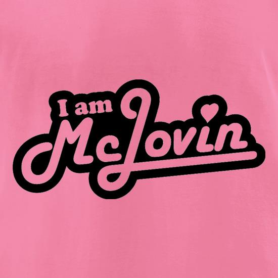 I Am McLovin t-shirts for ladies