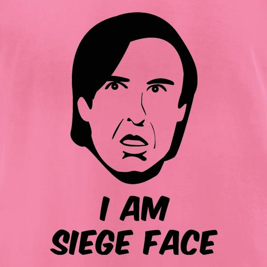 I Am Siege Face t-shirts for ladies
