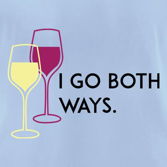 I Go Both Ways t-shirts for ladies