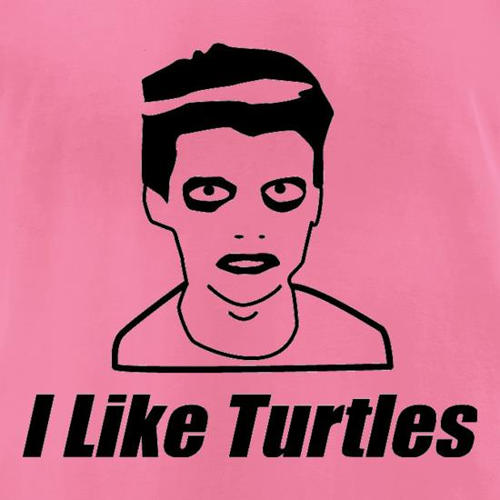 I Like Turtles t-shirts for ladies