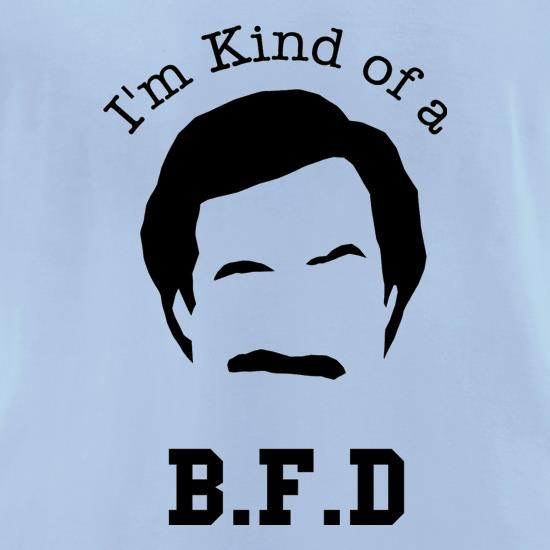 I'm kind of a BFD t-shirts for ladies