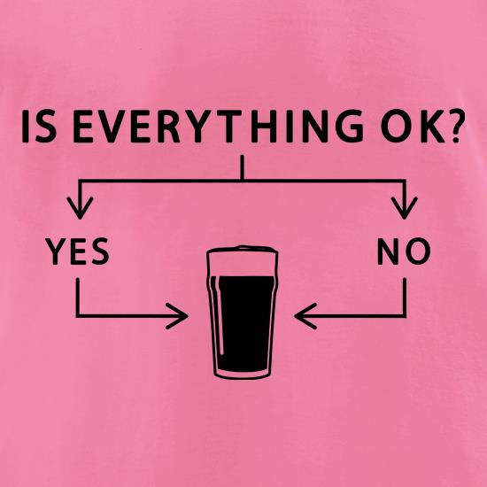 Is Everything Ok? t-shirts for ladies