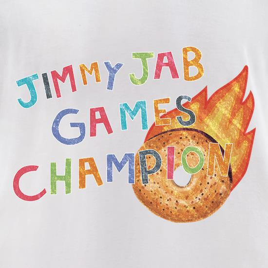 Jimmy Jab Games t-shirts for ladies