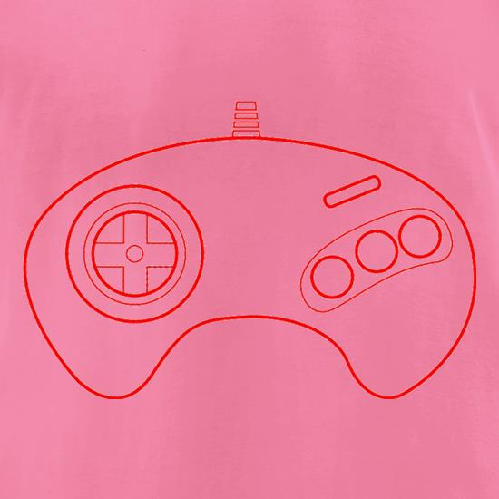 Megadrive Joypad t-shirts for ladies