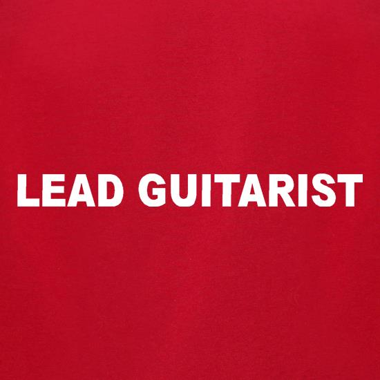 Lead Guitarist t-shirts for ladies