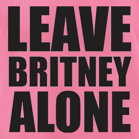 Leave Britney Alone t-shirts for ladies