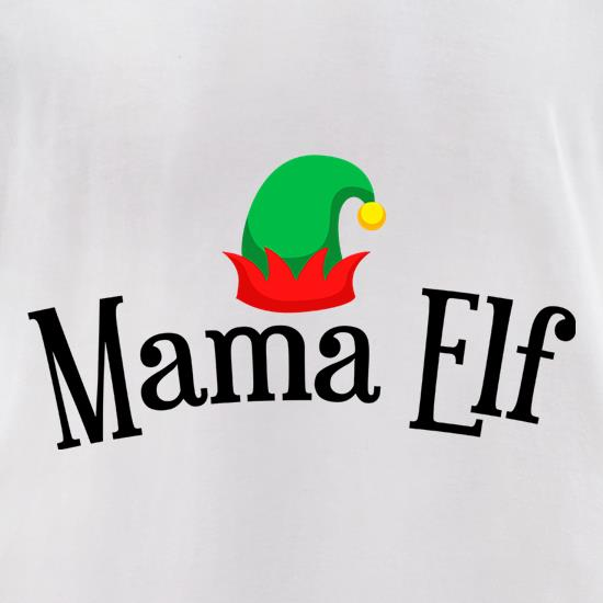 Mama Elf t-shirts for ladies