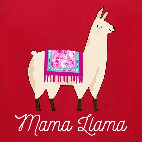 Mama Llama t-shirts for ladies