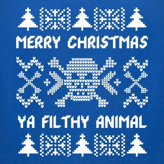 Merry Christmas Animal t-shirts for ladies