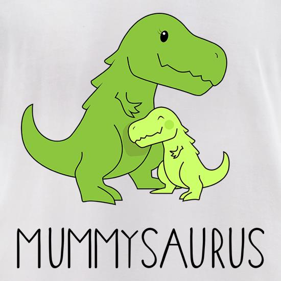 Mummysaurus t-shirts for ladies
