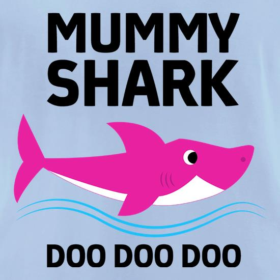 Mummy Shark t-shirts for ladies