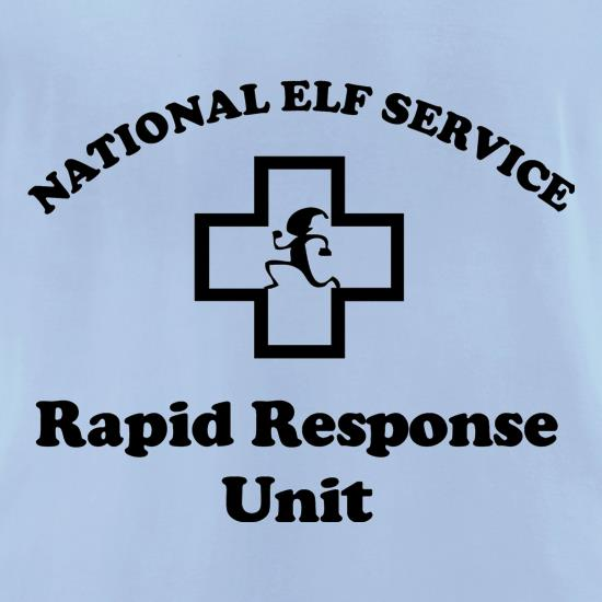National Elf Service - Rapid Response team t-shirts for ladies