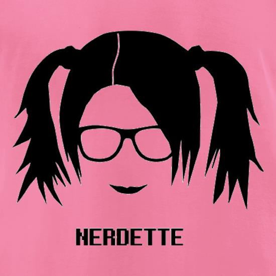 Nerdette t-shirts for ladies