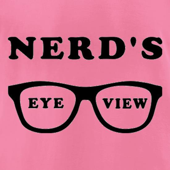 Nerd's Eye View t-shirts for ladies