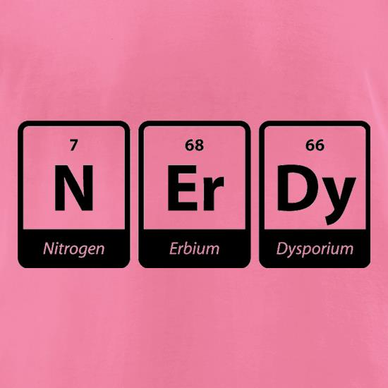 Nerdy t-shirts for ladies